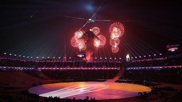 Церемония закрытия XXIII зимних Олимпийских игр в Пхенчхане - Sputnik Абхазия