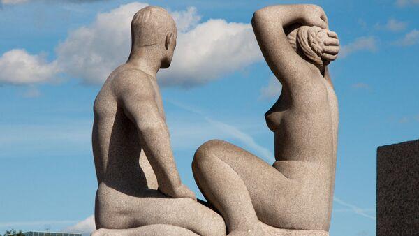 Скульптура в норвежском парке Вигеланд - Sputnik Абхазия
