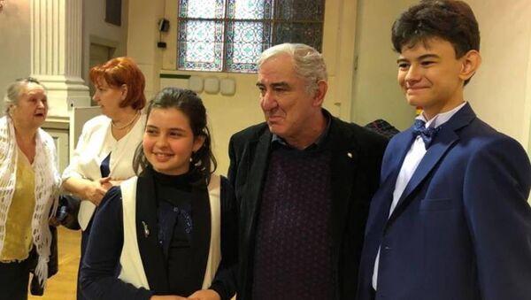 Эмилия Терзян-Хагба завоевала Гран-при на международном инструментально-вокальном конкурсе «Восходящие звезды» в Риге - Sputnik Абхазия