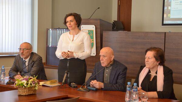 Презентация сайта историко-мемориального музея Нестора Лакоба - Sputnik Аҧсны