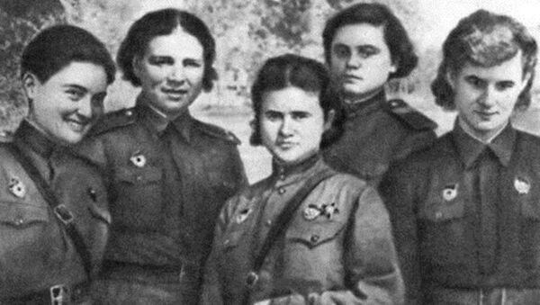 Летчица Мери Авидзба  - Sputnik Аҧсны
