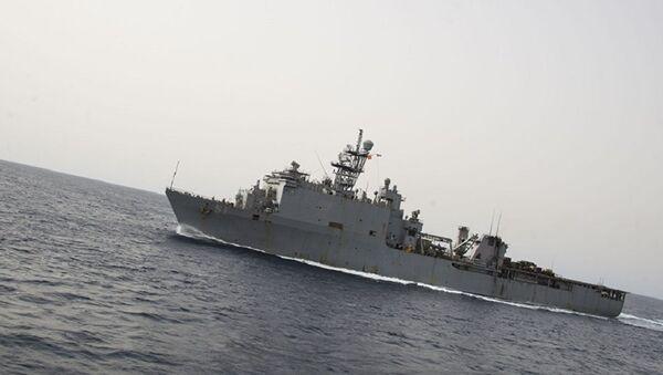 USS Oak Hill (lsd-51). Архивное фото - Sputnik Абхазия