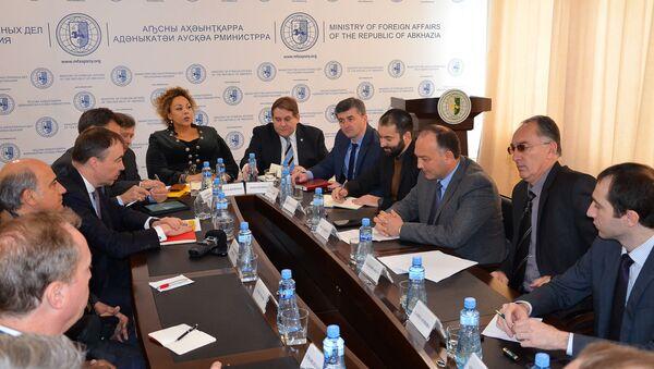 Встреча с сопредседателями женевских дискуссий в МИДе - Sputnik Аҧсны