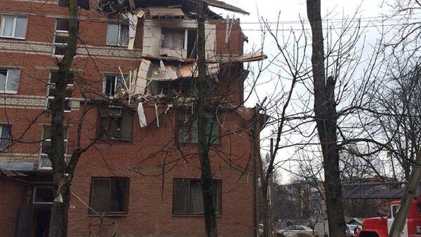 Взрыв газового баллона в живом доме в Краснодаре. 10 марта 2018 - Sputnik Абхазия