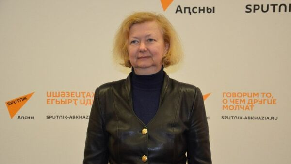 Елена Чурина - Sputnik Абхазия