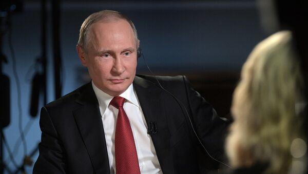 Президент РФ В. Путин дал интервью американскому телеканалу NBC - Sputnik Абхазия