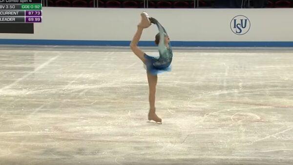 Рекорд побит: 13-летняя российская фигуристка превзошла Загитову и Медведеву - Sputnik Абхазия