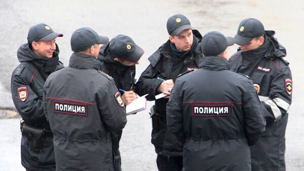 Сотрудники полиции в центре Сочи - Sputnik Абхазия