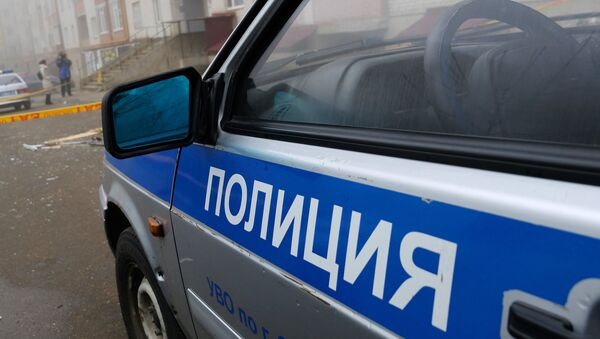 Машина полиции - Sputnik Абхазия