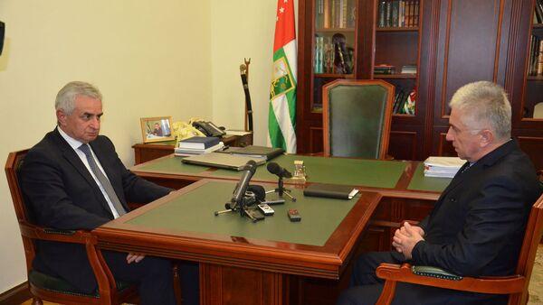 Президент встретился с главой комитета по репатриации - Sputnik Аҧсны