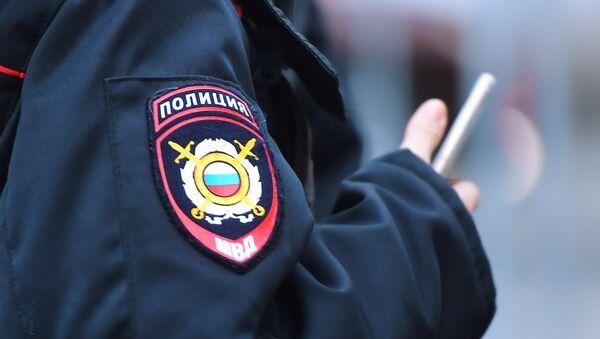 Эмблема на форме сотрудника полиции - Sputnik Абхазия