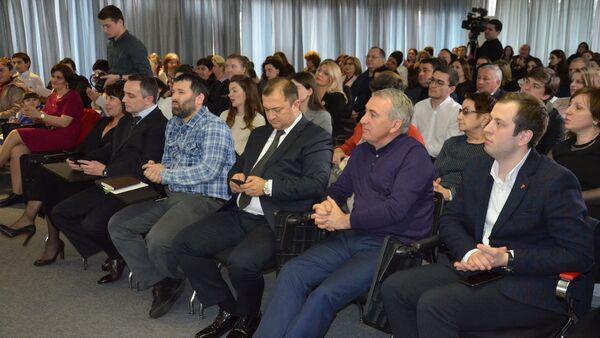 VII Отчетное собрание КБФ Ашана - Sputnik Абхазия