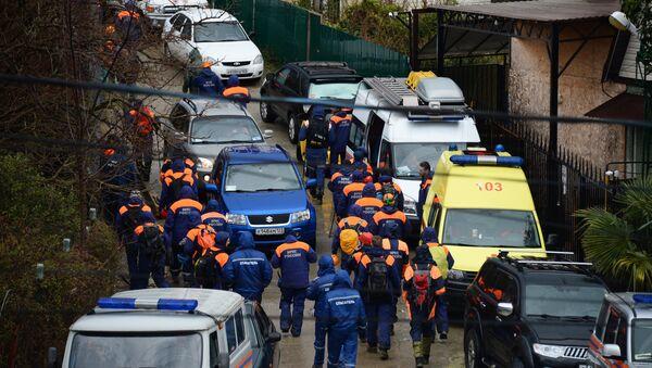 Поисковая операция по розыску пропавшей девочки в Сочи - Sputnik Абхазия