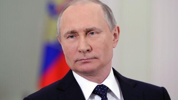 Президент РФ В.Путин - Sputnik Аҧсны