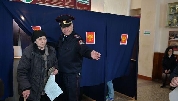 Выборы президента Российской Федерации в Абхазии - Sputnik Аҧсны