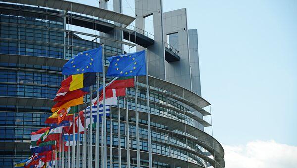 Здание Европейского парламента в Страсбурге. - Sputnik Абхазия