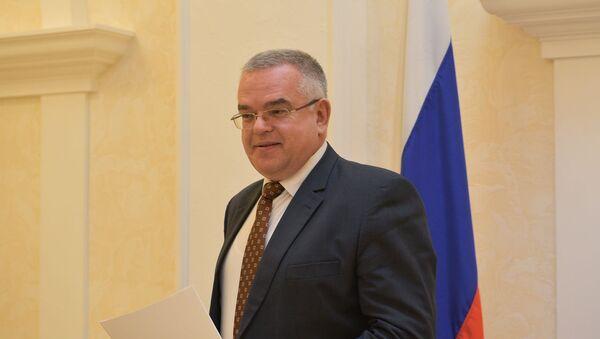 Пресс-конференция в посольстве России в Абхазии по итогам выборов президента России - Sputnik Абхазия