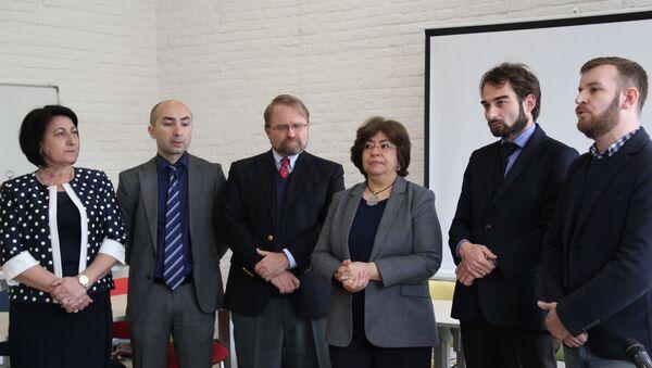 Открытие педагогического образовательного центра - Sputnik Аҧсны