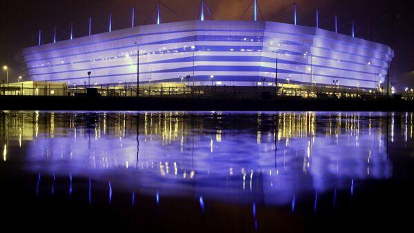 Строительство стадиона Калининград, архивное фото - Sputnik Аҧсны