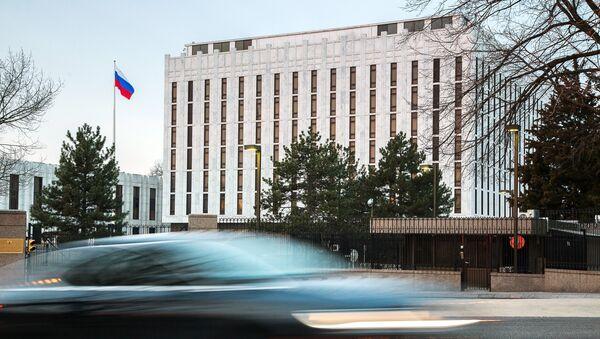 Посольство Российской Федерации в Вашингтоне. - Sputnik Абхазия
