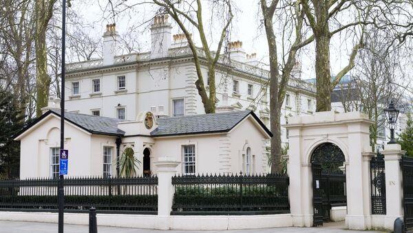 Посольство Российской Федерации в Великобритании. - Sputnik Абхазия