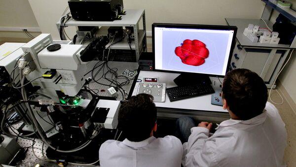 Лаборатория биомедицинских клеточных технологий. Архивное фото - Sputnik Абхазия