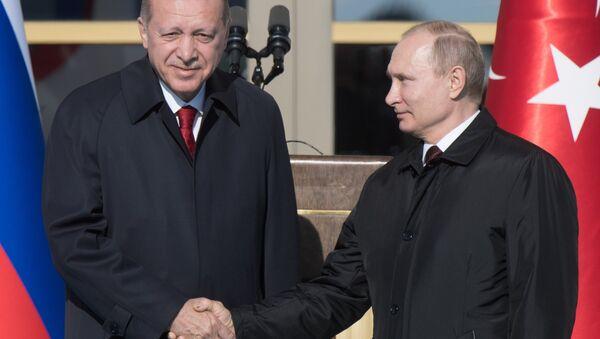 Визит президента РФ В. Путина в Турцию - Sputnik Аҧсны
