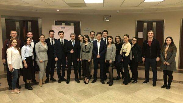 Молодые дипломаты Абхазии встретились со студентами МГИМО - Sputnik Аҧсны