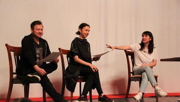 Российский режиссер Нигина Сайфуллаева провела мастер-класс Работа с актером - Sputnik Абхазия