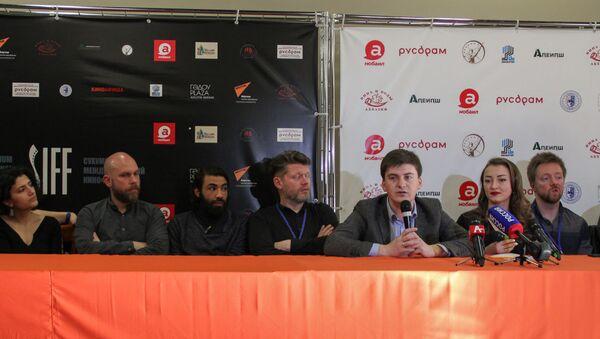 Кинофестиваль. Пресс-конференция - Sputnik Абхазия