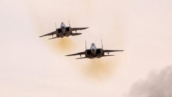 Истребители F-15 ВВС Израиля. Архивное фото - Sputnik Аҧсны