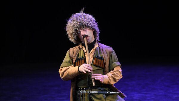 Концерт государственного заслуженного ансамбля народной песни и танца Абхазии в Москве - Sputnik Абхазия