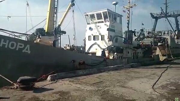 Рыболовецкое судно Норд - Sputnik Абхазия