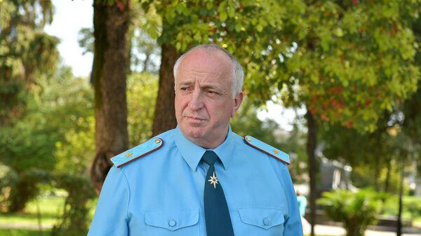 Учения МЧС в драмтеатре - Sputnik Абхазия