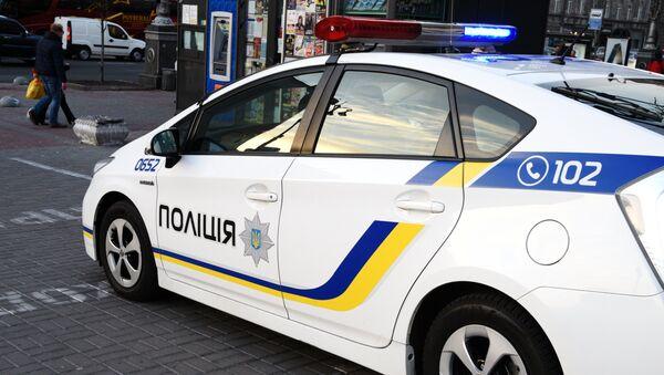 Автомобиль сотрудников Украинской полиции в Киеве. - Sputnik Абхазия
