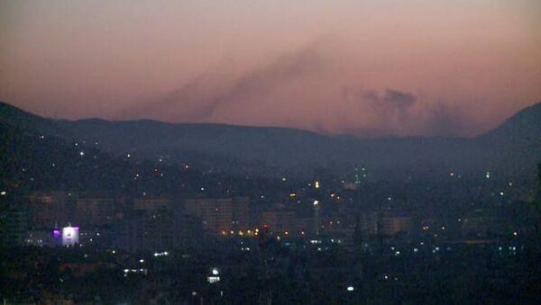 Бомбардировка Дамаска - Sputnik Абхазия
