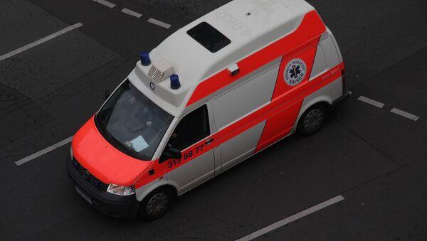 Немецкая машина скорой помощи в Германии - Sputnik Аҧсны