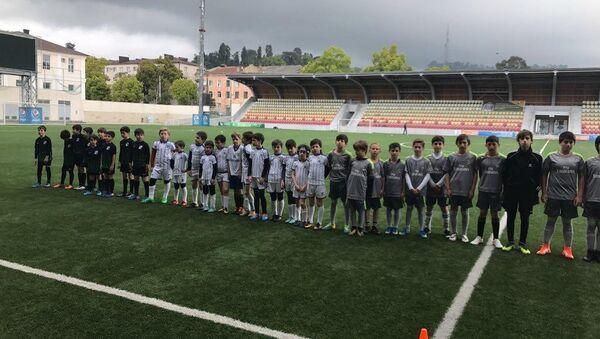 Весенние игры детской футбольной лиги - Sputnik Абхазия