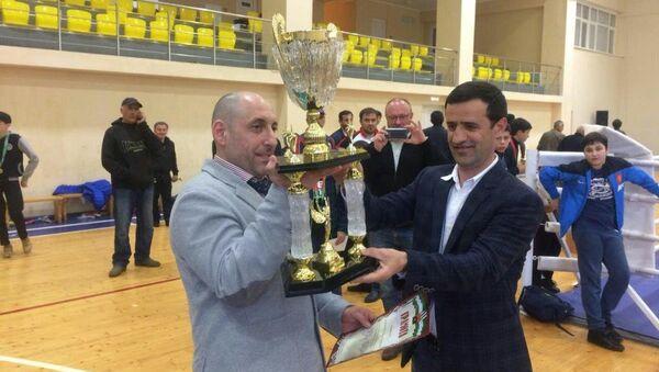 Первый турнир по боксу среди юношей и юниоров в городе Ткварчал - Sputnik Абхазия