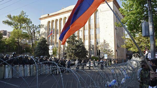 Акция протеста оппозиции в Ереване - Sputnik Аҧсны