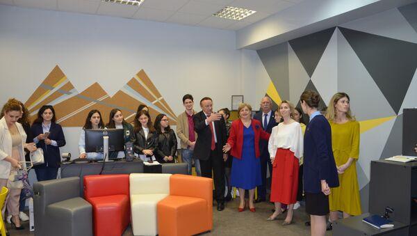 Студенческий центр открылся в Абхазском госуниверситете - Sputnik Абхазия