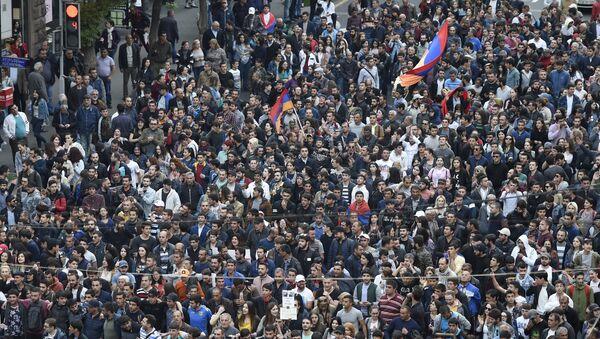 Акции протеста оппозиции в Ереване - Sputnik Абхазия