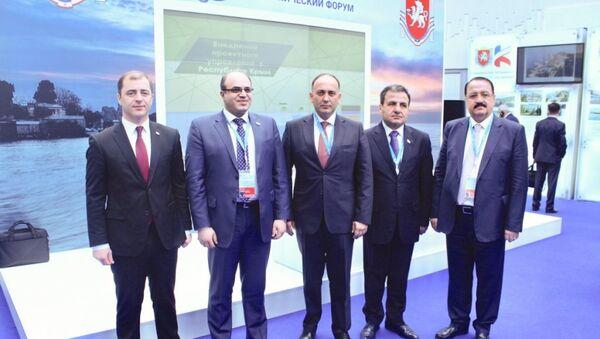 Адгур Ардзинба встретился с сирийским коллегой - Sputnik Аҧсны