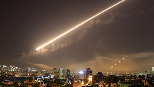 Ракетный удар по Сирии. Архивное фото - Sputnik Аҧсны
