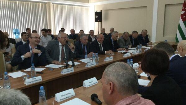 Заседание кабинета министров - Sputnik Аҧсны