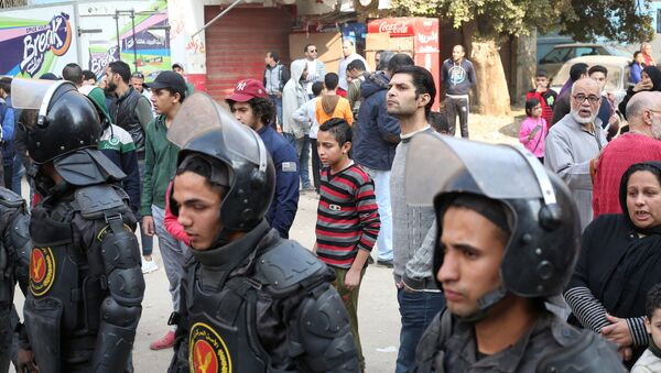 Сотрудники полиции Египта - Sputnik Аҧсны
