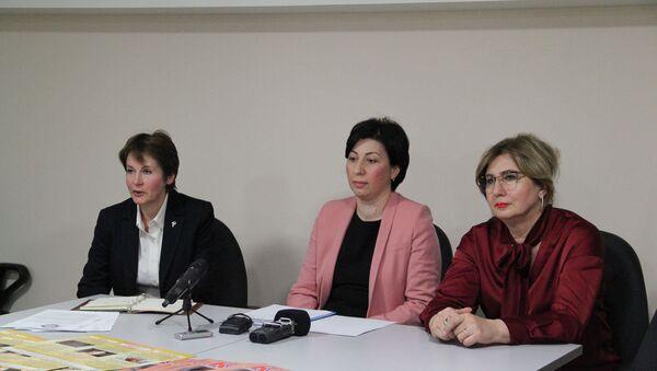 Брифинг ведущих специалистов системы здравоохранения - Sputnik Абхазия