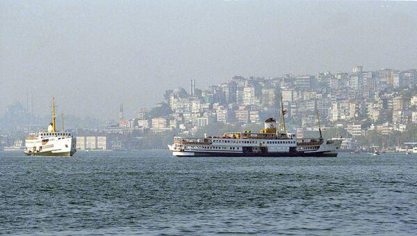 Вид на пролив Босфор в турецком городе Стамбуле - Sputnik Абхазия