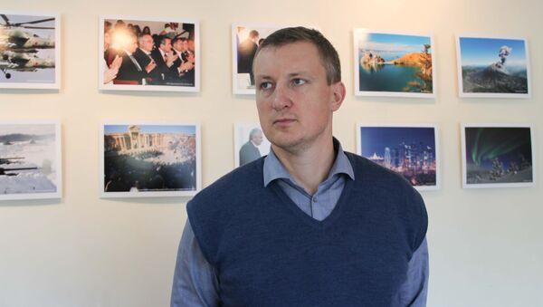 Помощник руководителя Россотрудничества Евгений Павлов - Sputnik Абхазия