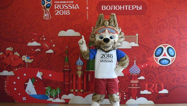 Официальный талисман Чемпионата мира по футболу FIFA 2018 Забивака, архивное фото - Sputnik Аҧсны